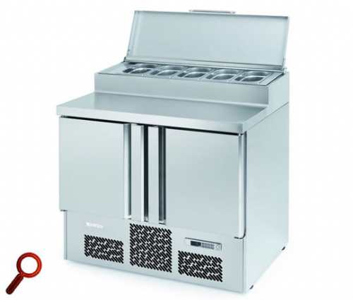 Infrico Compact Gastronorm Counter with raised collar ME1000EN